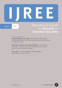 IJREE - International Journal for Research on Extended Education